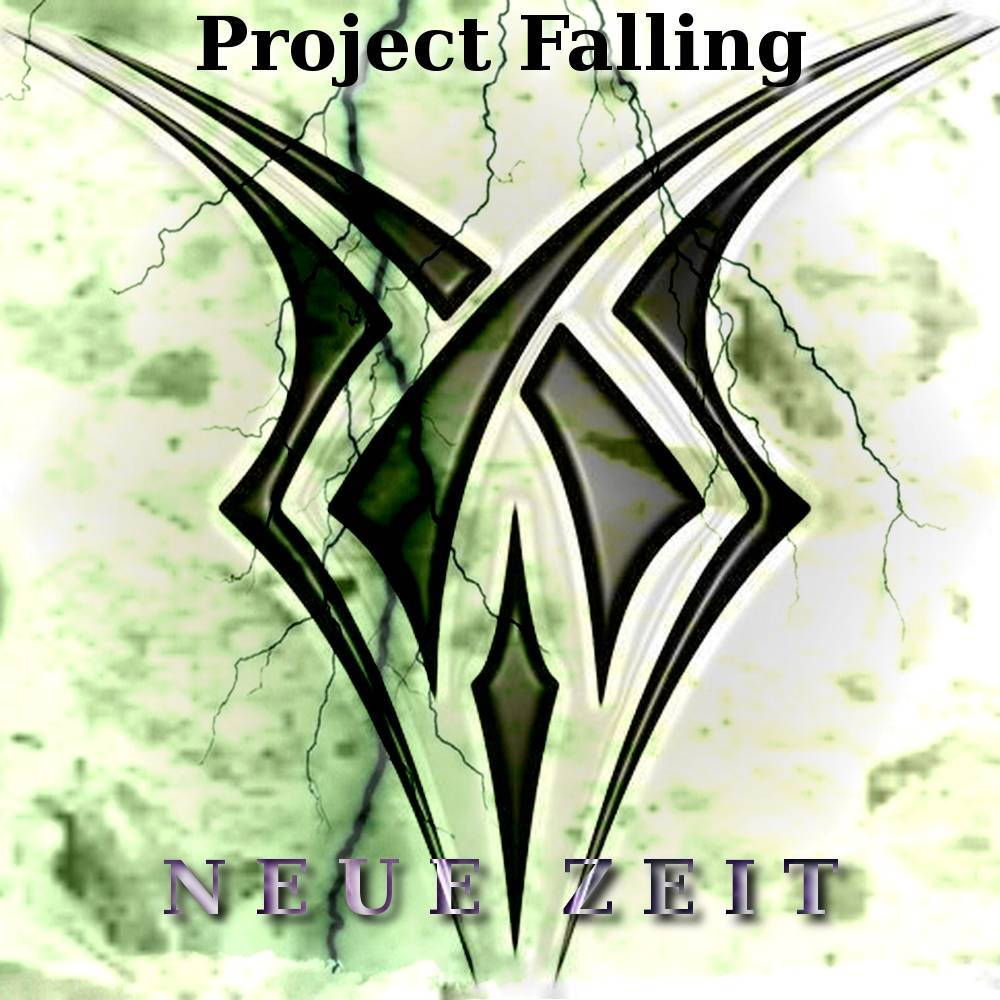 CD Cover - PROJECT FALLING - Neue Zeit