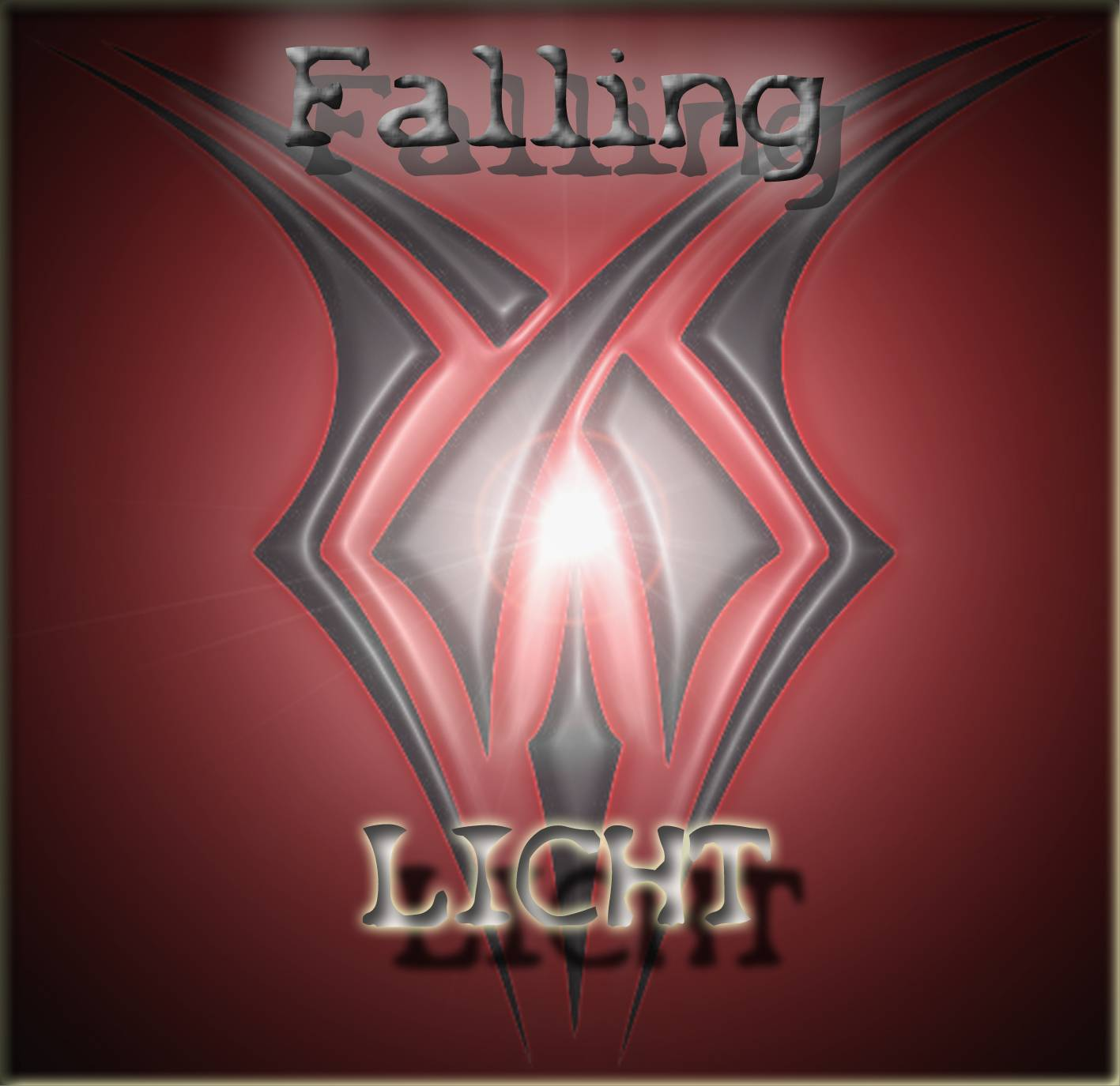 CD Cover - PROJECT FALLING - Licht
