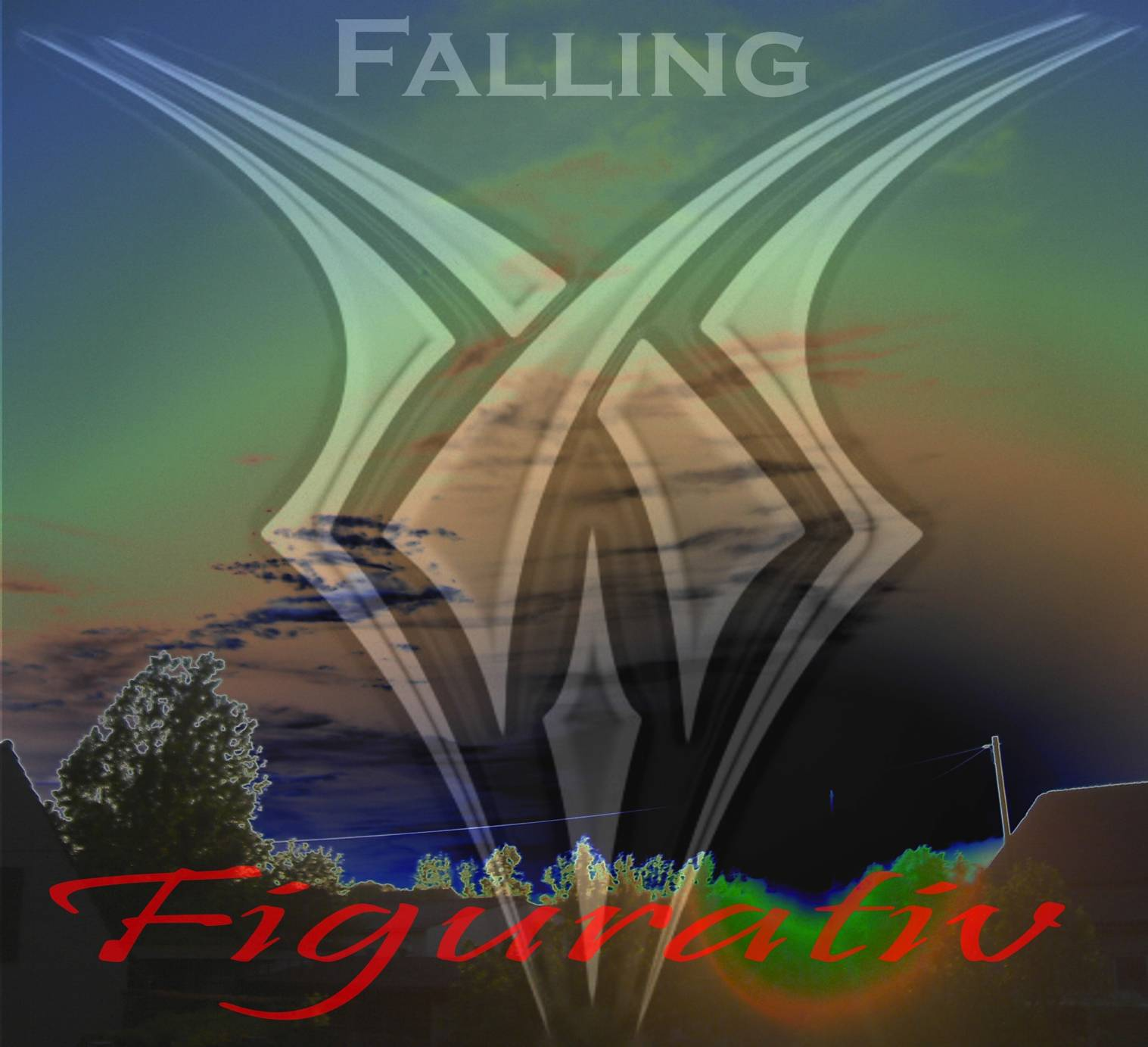 CD Cover - PROJECT FALLING - Figurativ
