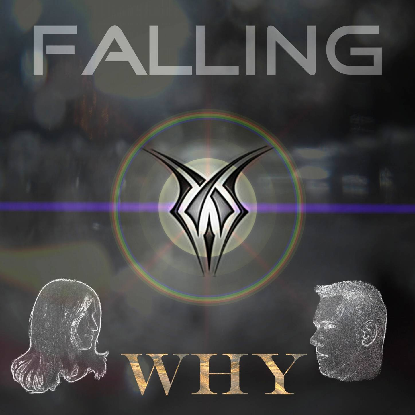 CD Cover - PROJECT FALLING - Why