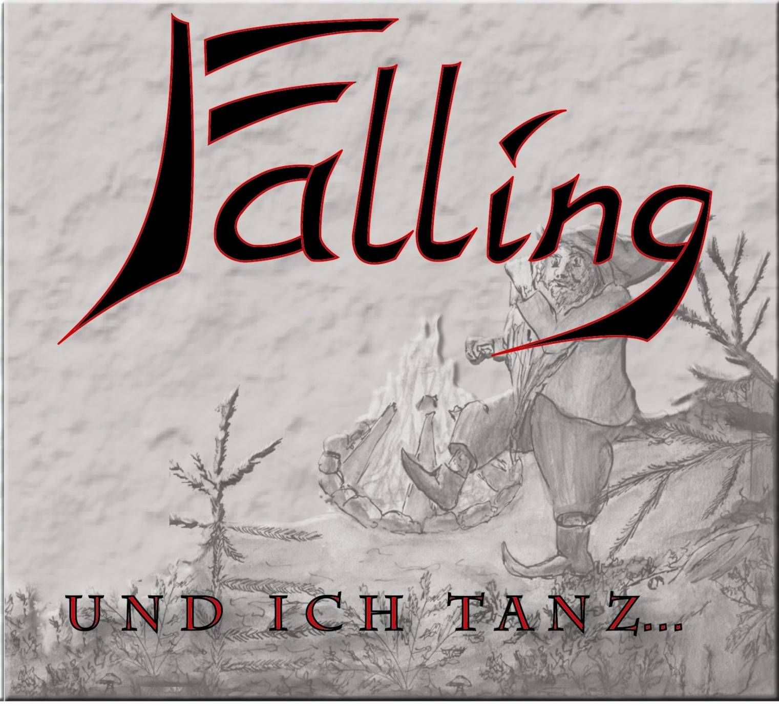 CD Cover - PROJECT FALLING - Und ich Tanz´