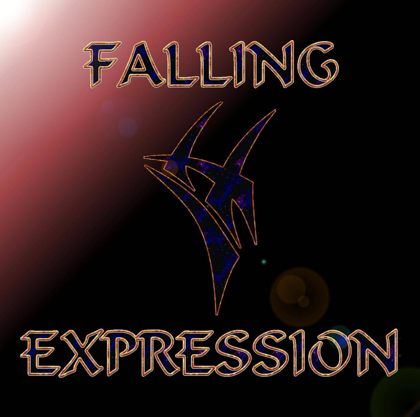 CD Cover - PROJECT FALLING - Expression