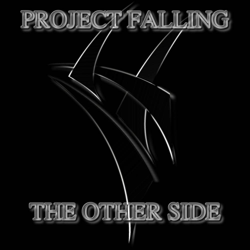 CD Cover - PROJECT FALLING - the other side