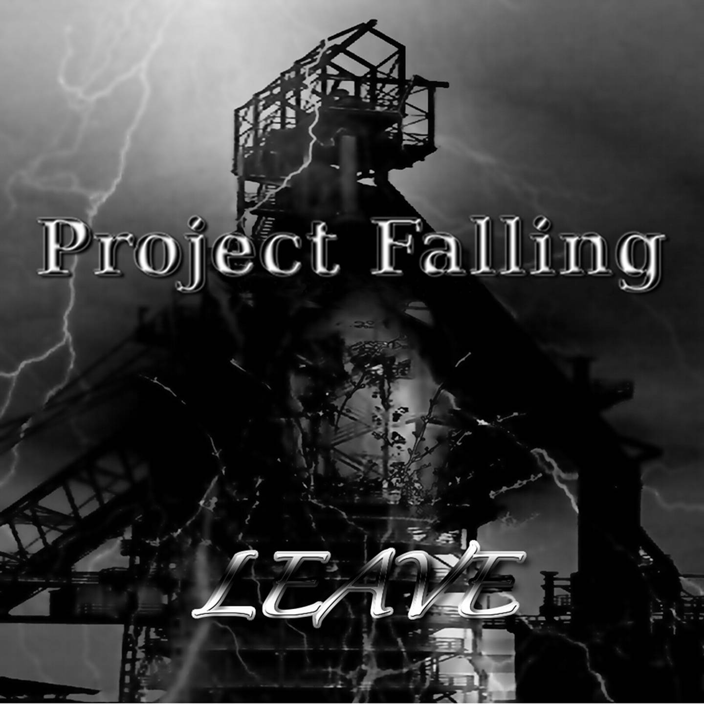 CD Cover - PROJECT FALLING - Leave