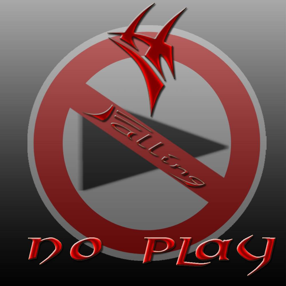 CD Cover - PROJECT FALLING - No Play